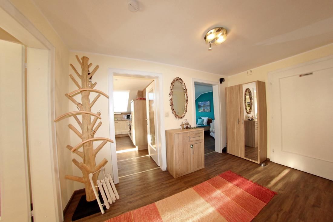 Private Ferienwohnung für 2-4 Personen mit zwei Schlafzimmern